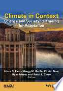 Book Cover: Climate in Context
