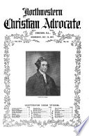 North western Christian Advocate Book