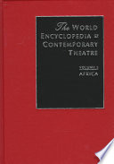 The World Encyclopedia Of Contemporary Theatre Africa