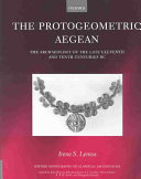 The Protogeometric Aegean
