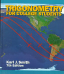 Trigonometry for College Students