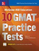 McGraw-Hill Education 10 GMAT Practice Tests Pdf/ePub eBook