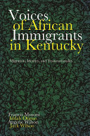 Voices of African Immigrants in Kentucky [Pdf/ePub] eBook