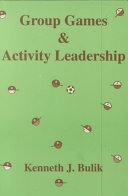 Group Games   Activity Leadership Book
