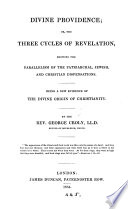 Divine Providence, Or, The Three Cycles of Revelation