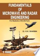 Fundamental of Microwave & Radar Engineering