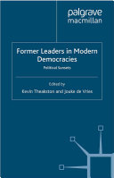 Former Leaders in Modern Democracies Pdf/ePub eBook