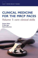 Cover of Clinical Medicine for the MRCP PACES