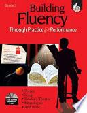 Building Fluency Through Practice Performance Grade 5