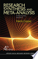 Research Synthesis and Meta Analysis