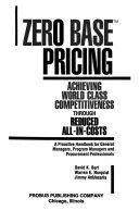 Zero Base Pricing