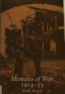 Memoirs of War, 1914-15