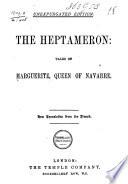 The Heptameron Book