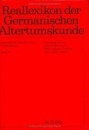 Reallexikon der germanischen Altertumskunde