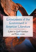 Encyclopedia of the Environment in American Literature [Pdf/ePub] eBook