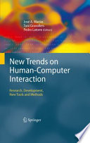 New Trends on Human Computer Interaction Book