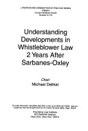 Understanding Developments in Whistleblower Law 2 Years After Sarbanes-Oxley