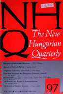 Nhq The New Hungarian Quarterly