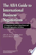 The Aba Guide To International Business Negotiations