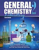 General Chemistry 2 Laboratory