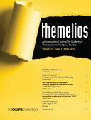 Themelios  Volume 35  Issue 1