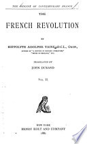 The Origins of Contemporary France      The French Revolution  1878 85