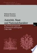 Autorität, Staat und Nationalcharakter