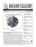 Russia Telecom Monthly Newsletter November 2009 [Pdf/ePub] eBook