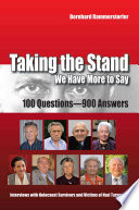 Taking The Stand We Have More To Say Book PDF