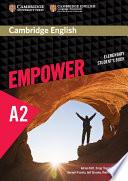 Cambridge English Empower Elementary Student S Book