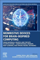 Memristive Devices for Brain Inspired Computing Book