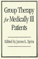 Group Therapy for Medically Ill Patients