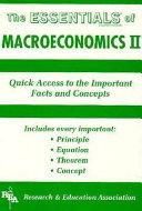 The Essentials of Macroeconomics