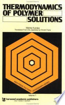 Thermodynamics Of Polymer Solutions Book PDF