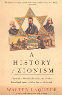 A History of Zionism Book