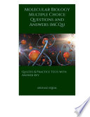 Molecular Biology Multiple Choice Questions And Answers Mcqs  Book