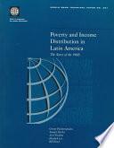 Poverty And Income Distribution In Latin America