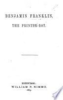 Benjamin Franklin  the Printer boy Book PDF