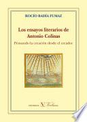 Los ensayos literarios de Antonio Colinas