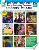 Early Learning Thematic Lesson Plans  Grades PK   1 Book