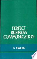 Perfect Business Communication Book PDF