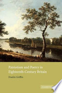 Patriotism and Poetry in Eighteenth-Century Britain
