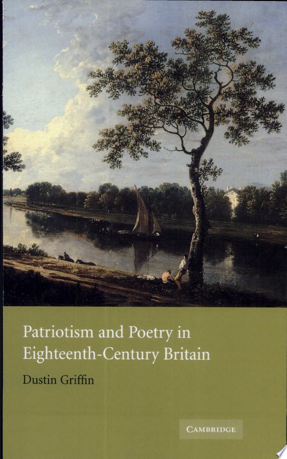 Patriotism and Poetry in Eighteenth-Century Britain