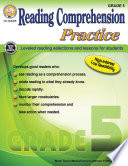 Reading Comprehension Practice  Grade 5