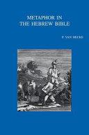 Metaphor in the Hebrew Bible