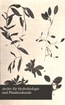 Archiv für Hydrobiologie und Planktonkunde