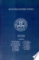Selected Battery Topics Book PDF