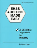 EH S Auditing Made Easy
