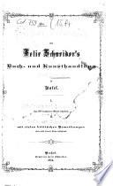 Weihnachts-Catalog von Felix Schneider's Buch- und Kunsthandlung (Adolf Geering) in Basel