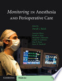 Monitoring In Anesthesia And Perioperative Care Book PDF